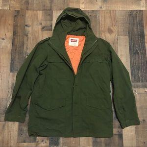 Levi's Hooded Men's Full Zip Parka Jacket